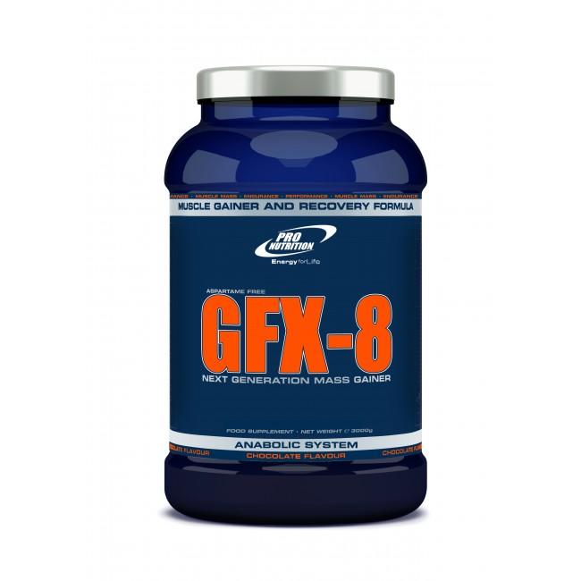 GFX 8 tömegnövelő 3000 g